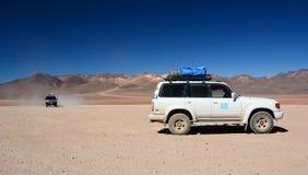 Adventure trip. Siloli desert. Potosí Department. Bolivia Royalty Free Stock Photos