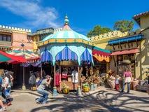 Adventureland Disney värld Arkivfoto