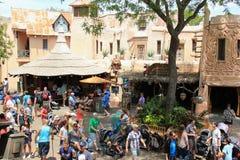 Adventureland in Disneyland stock fotografie