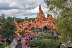 Adventureland en el reino mágico Foto de archivo libre de regalías