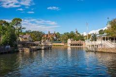 Adventureland en el reino mágico, Walt Disney World Fotos de archivo libres de regalías