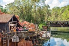 Adventureland en el reino mágico, Walt Disney World Fotografía de archivo libre de regalías