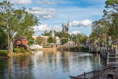 Adventureland en el reino mágico, Walt Disney World Foto de archivo libre de regalías