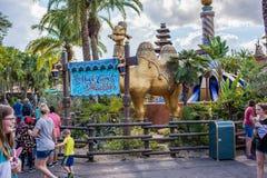 Adventureland am magischen Königreich Lizenzfreie Stockfotos
