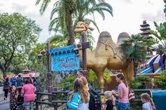 Adventureland am magischen Königreich Stockbild