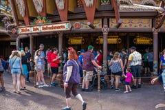 Adventureland am magischen Königreich Stockfotografie