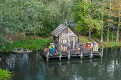 Adventureland am magischen Königreich Lizenzfreie Stockfotografie