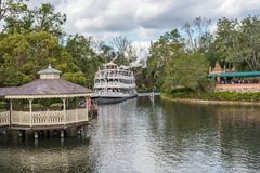 Adventureland am magischen Königreich, Walt Disney World Lizenzfreie Stockfotos