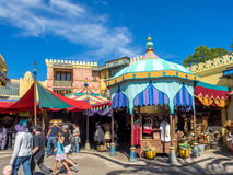 Adventureland, monde de Disney Photographie stock