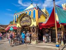 Adventureland, mundo de Disney Imagen de archivo