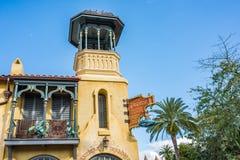 Adventureland no reino mágico Foto de Stock Royalty Free