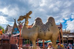Adventureland przy Magicznym królestwem Zdjęcia Royalty Free