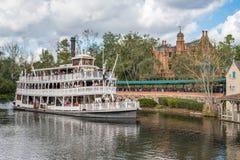 Adventureland przy Magicznym królestwem, Walt Disney świat Obrazy Stock