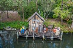 Adventureland przy Magicznym królestwem, Walt Disney świat Zdjęcia Royalty Free