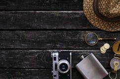 adventurer reiziger ontdekkingsreiziger Toeristenlijst royalty-vrije stock afbeeldingen