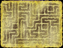 Adventurer's plan Royalty Free Stock Image