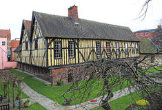 Adventurers Hall mercantil, York, Inglaterra Fotografía de archivo