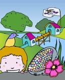 adventures символы малыша Айовы Стоковое Изображение RF