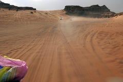 Adventures in the desert of Jordan Royalty Free Stock Image