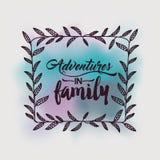 Adventures in family design Royalty Free Stock Photos