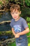 Adventurous Boy Child Stock Image