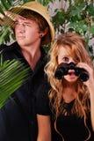 Adventurous Couple Royalty Free Stock Photography