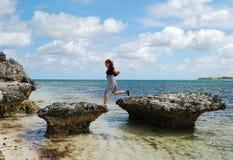 Adventurous Girl Stock Image