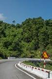 Adventurous Highway to Kim Lien Royalty Free Stock Photos