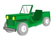 Adventurous jeep Royalty Free Stock Photography