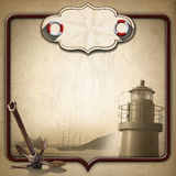 Adventurous Journeys Vintage Background Royalty Free Stock Image