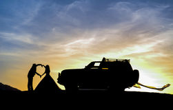Adventurous married couples Royalty Free Stock Photos