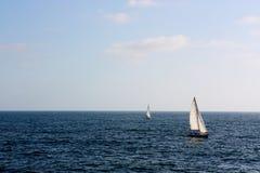 Adventurous Ocean Yachts Royalty Free Stock Photography