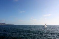 Adventurous Ocean Yachts Royalty Free Stock Photos