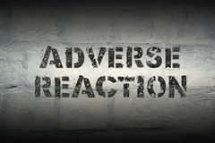 Adverse Reaction Gr Royalty Free Stock Image