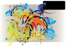 advert grunge vector Στοκ φωτογραφίες με δικαίωμα ελεύθερης χρήσης
