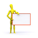 Advert Man Royalty Free Stock Images