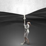 Adverteer concept Royalty-vrije Stock Foto's