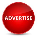 Adverteer elegante rode ronde knoop vector illustratie
