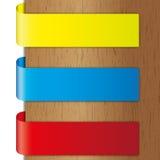 Adverteer kleurrijke brochure royalty-vrije illustratie
