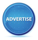 Adverteer middernacht blauwe eerste ronde knoop stock illustratie