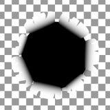 Adverteer modeldocument pagina vector illustratie