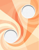 Adverteer vlieger/bedrijfsaffiche vector illustratie