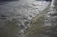 Advertencia de la inundación Imagen de archivo