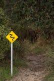 Advertencia de la muestra de serpientes Fotografía de archivo libre de regalías