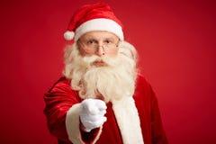 Advertencia de la Navidad Imágenes de archivo libres de regalías