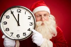 Advertencia de la Navidad Fotografía de archivo