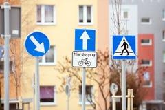 Advertencia de la señal de tráfico Imagenes de archivo