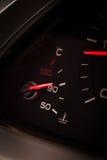 Advertencia del líquido refrigerador del coche Imagen de archivo libre de regalías