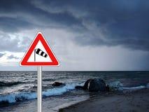 Advertencia del viento de tormenta del tiempo Imagenes de archivo
