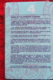 Advertencias del pasaporte de los E.E.U.U. - 2006 Fotografía de archivo